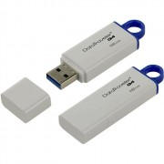 Флеш диск 16GB USB 3.0 Kingston Data Traveler G4 белый