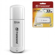 Флеш диск 32Gb USB 2.0 Transcend  JetFlash 370, белый
