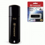 Флеш диск 4GB USB 2.0 350 JetFlash, Transcend черный