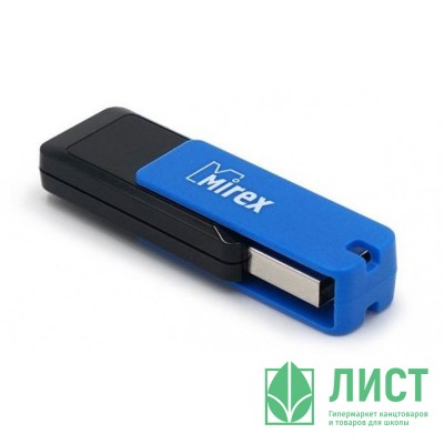 Флеш диск 16GB USB 2.0 Mirex City синий Флеш диск 16GB USB 2.0 Mirex City синий
