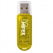 Флеш диск 32GB USB 2.0 Mirex Elf желтый